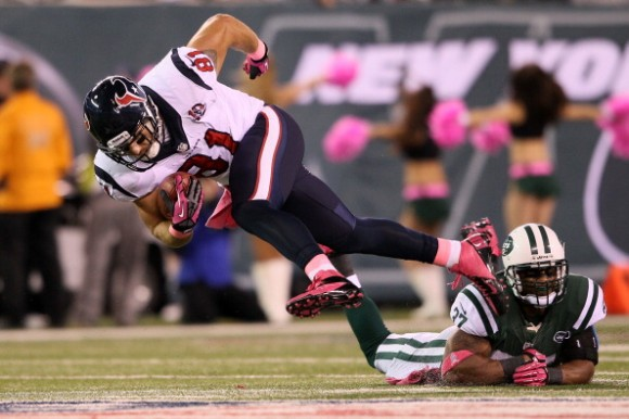 Texans Two-Step to a Big Lead Over Jets; Hold On for 23-17 Win