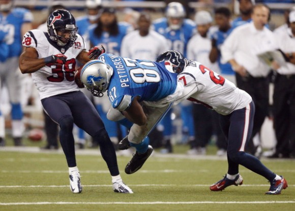 Texans Go Extra Again; Top Lions 34-31 in Detroit