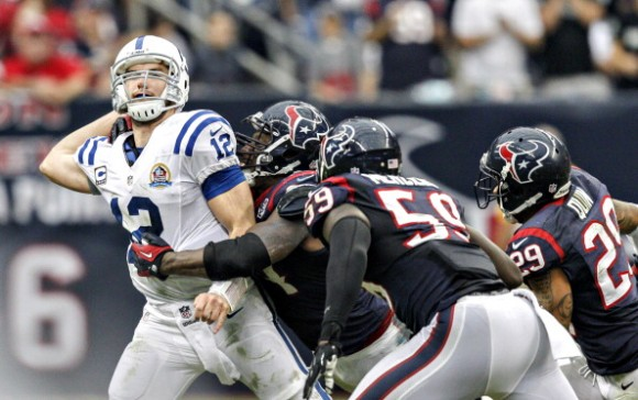 Texans Rebound to Top Colts 29-17; Win 2nd Straight AFC South