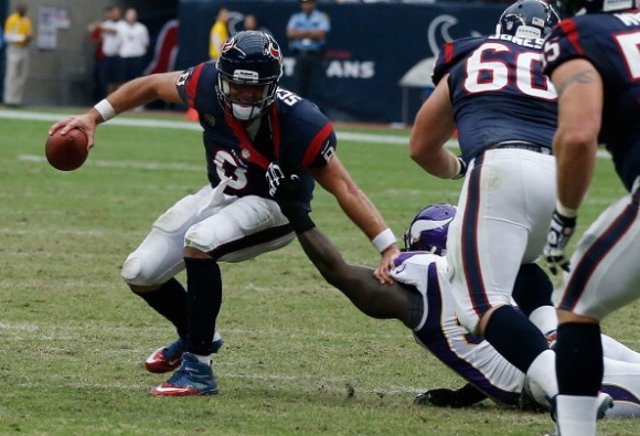 Texans' offense faces longest yards on third down