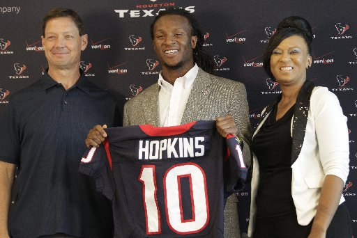 Kubiak Feels First-Round Pick Hopkins Is A Special Talent