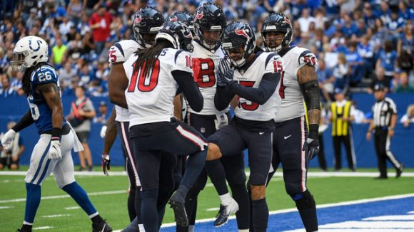 Video: Colts Can't Close Out Texans, Fall in Overtime 37-34
